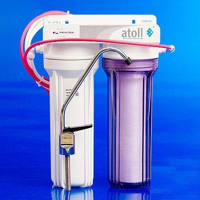 Проточный фильтр атолл