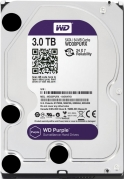 HDD 3000 GB (3 TB) SATA-III Purple (WD30PURX) Жесткий диск (HDD), стандарт SATA-III, объем 3000 GB (3 TB) для видеонаблюдения