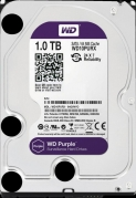 HDD 1000 GB (1 TB) SATA-III Purple (WD10PURX) Жесткий диск (HDD), стандарт SATA-III, объем 1000 GB (1 TB) для видеонаблюдения