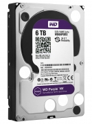 HDD 6000 GB (6 TB) SATA-III Purple NV WD6NPURX Жесткий диск (HDD), стандарт SATA-III, объем 6000 GB (6 TB) для видеонаблюдения