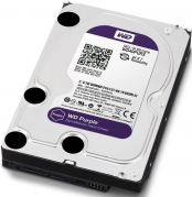 HDD 4000 GB (4 TB) SATA-III Purple (WD40PURX) Жесткий диск (HDD), стандарт SATA-III, объем 4000 GB (4 TB) для видеонаблюдения