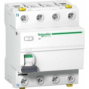 УЗО Acti 9 iID K 4П 63A 300mA AC Schneider Electric