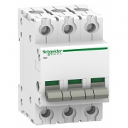 Выключател нагрузки iSW Acti 9 Schneider Electric 3П 100A (модульный рубильник)