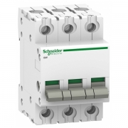 Выключател нагрузки iSW Acti 9 Schneider Electric 3П 63A (модульный рубильник)