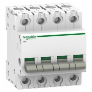 Выключател нагрузки iSW Acti 9 Schneider Electric 4П 100A (модульный рубильник)